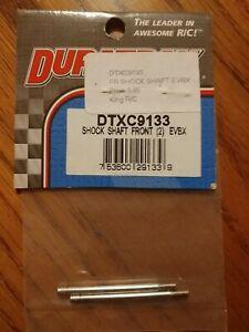 Duratrax Evader BX Front Shock Shaft (2) EVBX DTXC9133 (NEW)