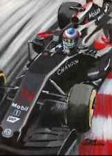 Canvas Fernando Alonso in de #14 McLaren Honda MP4-31 Toon Nagtegaal (LE)