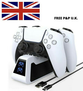 PS5 Dual Controller Fast Charger Charging Dock Station Stand Dualsense Gamepad