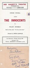 THE INNOCENTS-1952-FLORA ROBSON-JEREMY SPENSER-CAROL WOLVERIDGE-SIGNED BOOK PAGE