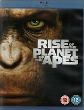 RISE OF THE PLANET OF THE APES - Andy Serkis - Blu-Ray *FREE UK P&P*