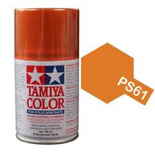 Tamiya PS-61 Metallic Orange Spray Paint Can FOR POLYCARBONATE 3.35 oz. (100ml)