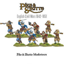 Warlord Games - Pike & Shotte - Musketeers on campaign - 28mm