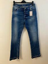 New Paul Joe Sister Jeans, 8 Fancy Pants Flare, Blue, UK 16, RRP £160