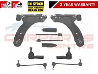 FOR VAUXHALL CORSA C LOWER WISHBONE ARMS LINKS TRACK ROD ENDS RACK ENDS & GAITER