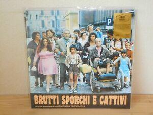LP ARMANDO TROVAJOLI Brutti sporchi e cattivi OST (Goodfellas 76/RE 17) poster M