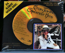 "AUDIOPHILE DCC GZS 1071 Gold CD Elton JOHN ""Greatest Hits"" Sealed - RARE Lted"