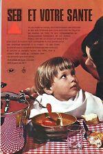 PUBLICITE ADVERTISING 014 1967 SEB cocotte-minute