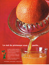PUBLICITE ADVERTISING    1964   cure de fruits vitamine C