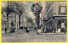 cpa IVRY sur SEINE (Val de Marne) Avenue de la RÉPUBLIQUE Belle Animation