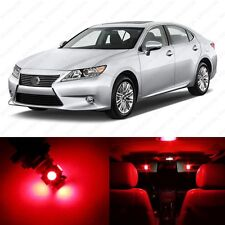 16 x Red LED Interior Lights Package For 2013 - 2015 Lexus ES350 ES300h + TOOL