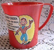 Howdy Doody Ovaltine Mug, 1950's, Excellent!