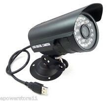 USB Surveillance Camera Home CCTV Security Camera Night IR Vision Waterproof