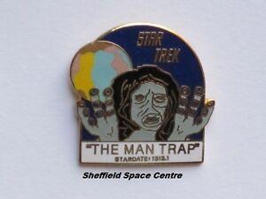 Star Trek The Man Trap Original Series Episode Pin Badge STPIN7906