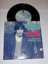 """JACKSON BROWNE - In The Shape Of A Heart - 1986 UK 2-track 7"""" Single"""