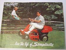 1964 Simplicity Color Brochure Catalog Landlord Broadmoor Wonder Boy & More LG5
