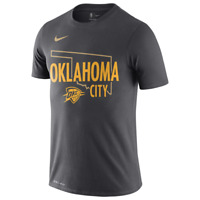 Nike NBA Mens Oklahoma City Thunder City Edition Series Dri T-Shirt Large NEW
