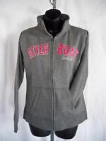 New-River Boat Twilight Womens Small Gray ZipUp Pullover