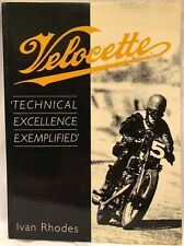 Velocette by Ivan Rhodes (2003, PB, Very Good Condition) FREE S&H