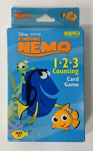 Disney Finding Nemo 1 2 3 Counting Card Game