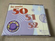 "COFFRET 3 CD NF ""LES ANNEES 50 - 51 - 52"" 63 titres / selection reader's digest"