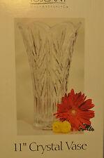 St. George Crystal - TOSCANY - 11 Inch Crystal Vase - Fine Lead Crystal