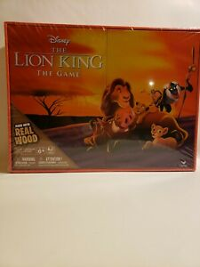 Disney The Lion King Board Game Wooden Edition Real Wood Pieces Cardinal Deluxe