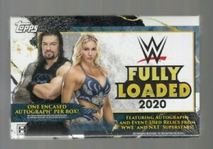 2020 Topps WWE Fully Loaded Hobby Box - Factory Sealed - Free Ship