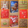 Christmas Gift Bags Santa Reindeer Merry Christmas Holly Xmas Tree Various Sizes