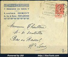 FRANCE TYPE SEMEUSE N°199 PUB SPHERE DAGUIN DE PONT AUDEMER A VOIR