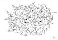 A. COCHIUS Modern Art, Kunst, Design, handsigniert, datiert, limitiert (25)