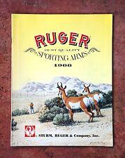 Ruger Sporting Arms 1988 Gun Catalog Original Storm Ruger & Co