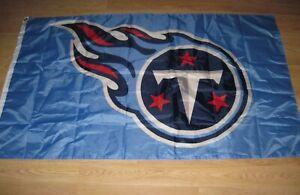 NFL Tennessee Titans 3'x5' Stadium/House Flag/Football Helmet Logo Wall Hanging
