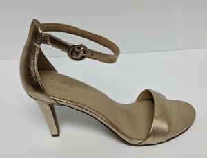 Naturalizer Kinsley Heeled Sandals, Gold, Women's 11 M