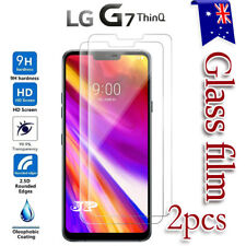 2X LG G7 ThinQ I G7+ Tempered Glass LCD Screen Protector Film Guard