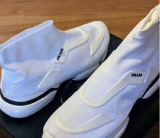 Prada cloudburst High top White Sneakers Size 9