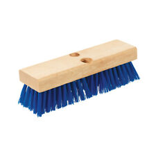 """Deck Scrub Brush 230Mm (9"""") Hardware & Fixings Cleaning Silverline 973646"""