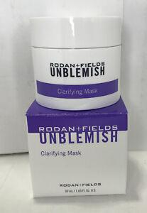 Rodan + Fields UNBLEMISH Clarifying Mask 50 ml 1.69 fl.oz. Sealed Exp. 12/20 (D)