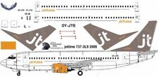 jettime Boeing 737-300 decals for Minicraft 1/144 kit