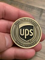 Ultra Limited UPS Ohio Valley District Challenge Coin GOLF BALL MARKER