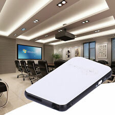 Mini Pocket 3000Lumens Android 4.4 Wifi DLP Projector Built Battery HDMI USB SD