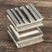 Square Dapping Block Metal High Hardness Jewelry DIY Crafts Forming Making Tools