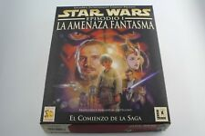 PC CAJA GRANDE CARTON STAR WARS EPISODIO 1 LA AMENAZA FANTASMA PAL ESPAÑA
