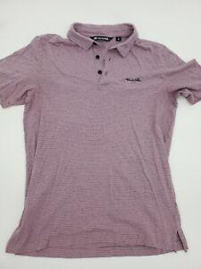 Travis Mathew Men's S/S Golf Shirt - Poly/Cotton Blend Size Small **21-6
