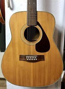 Yamaha 12-string acoustic guitar FG-312 vintage 70's