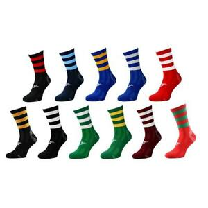 Precision Pro Hooped GAA Gaelic Hurling Mid Socks - Adult Unisex