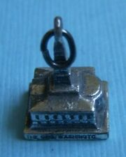 National Memorial sterling charm Vintage George Washington Masonic