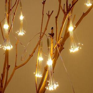 Firework Hanging LED String Lights 150LED Copper Wire Strip Fairy Light Remote