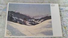 Garmisch Partenkirchen im Winter Skispuren AK Postkarte 1330