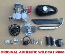 "Authentic Wildcatâ""¢ Pk80 Runwell 80cc/66cc Motorized Bike Kit Motor Engine Black"